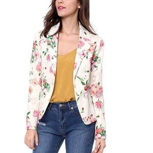 ANNETTE Floral Blazer
